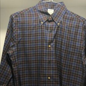 Men's Button Up Shirt by Brooks Brothers Small
